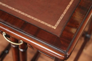 high-end-mahogany-leather-top-nesting-table-8681